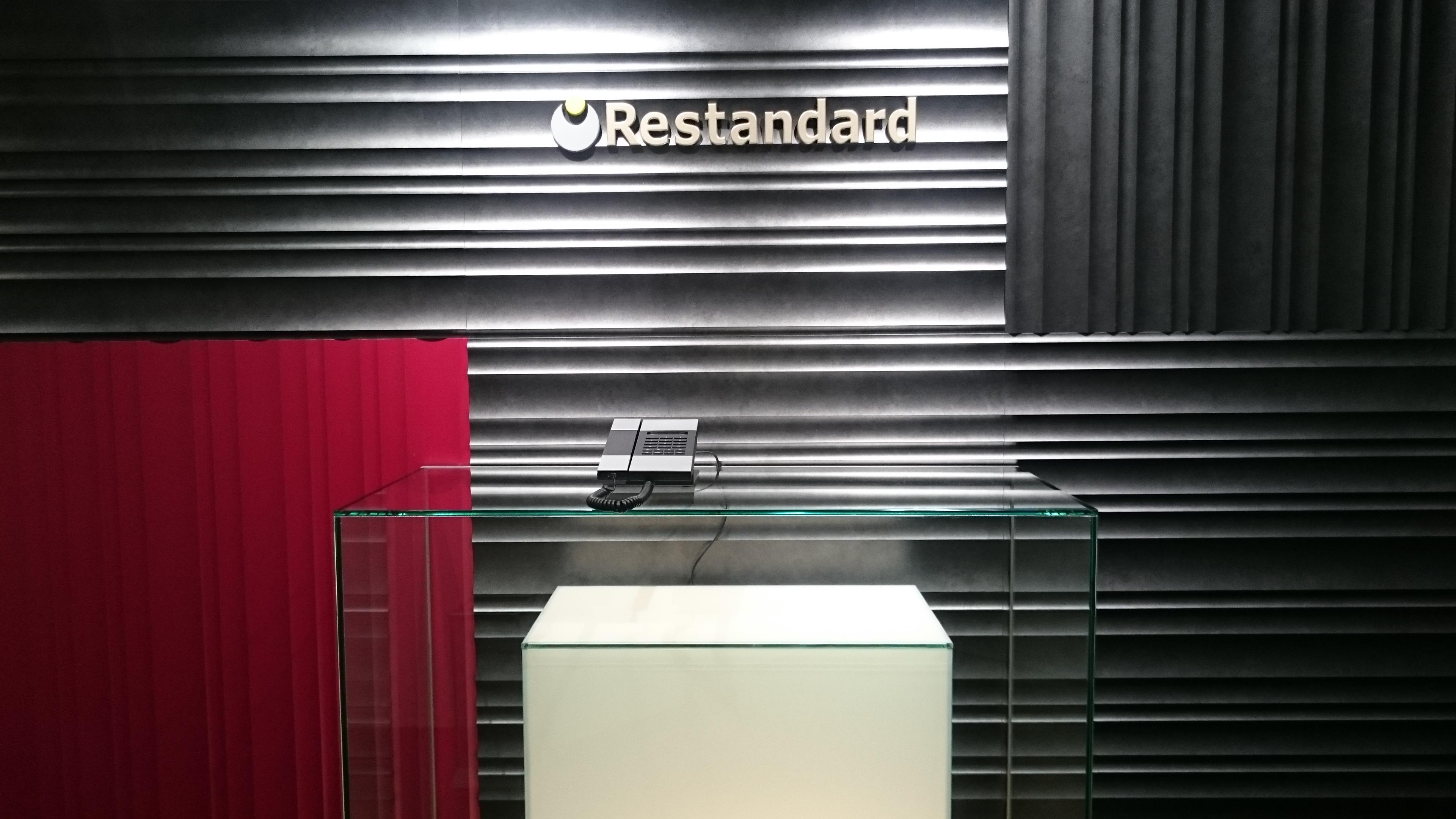 レスタンダード株式会社のエントランス