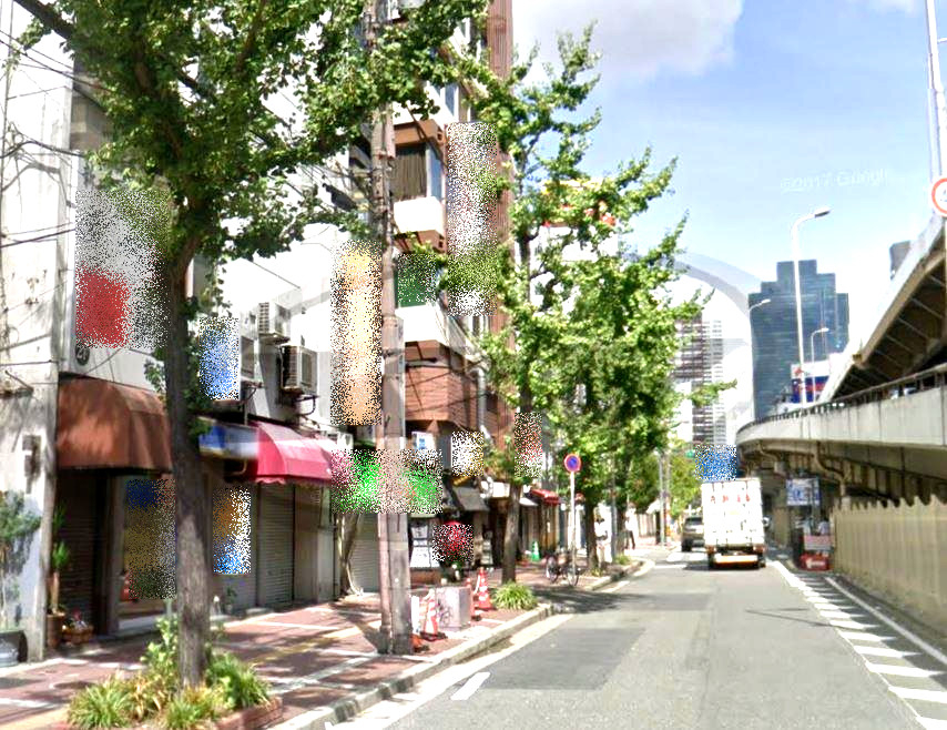 東梅田の店舗物件